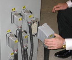Plug and play electrics