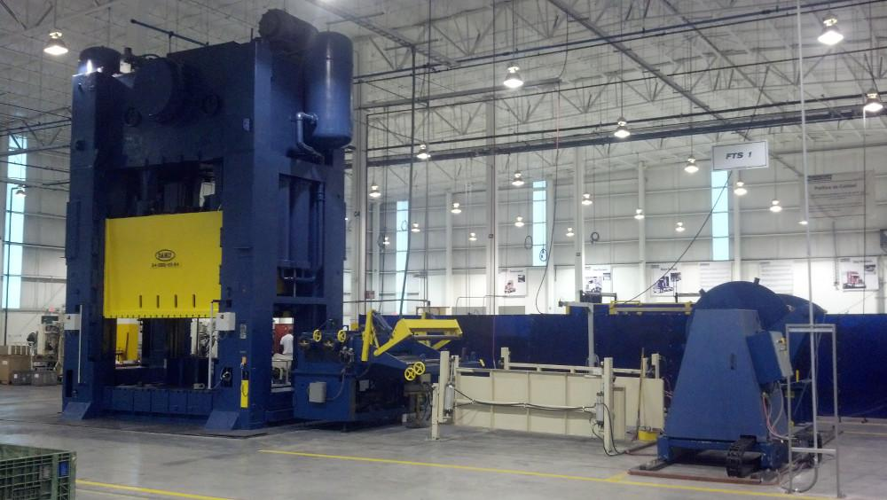 Mercury Products Corp Adds 1 000 Ton Stamping Press To