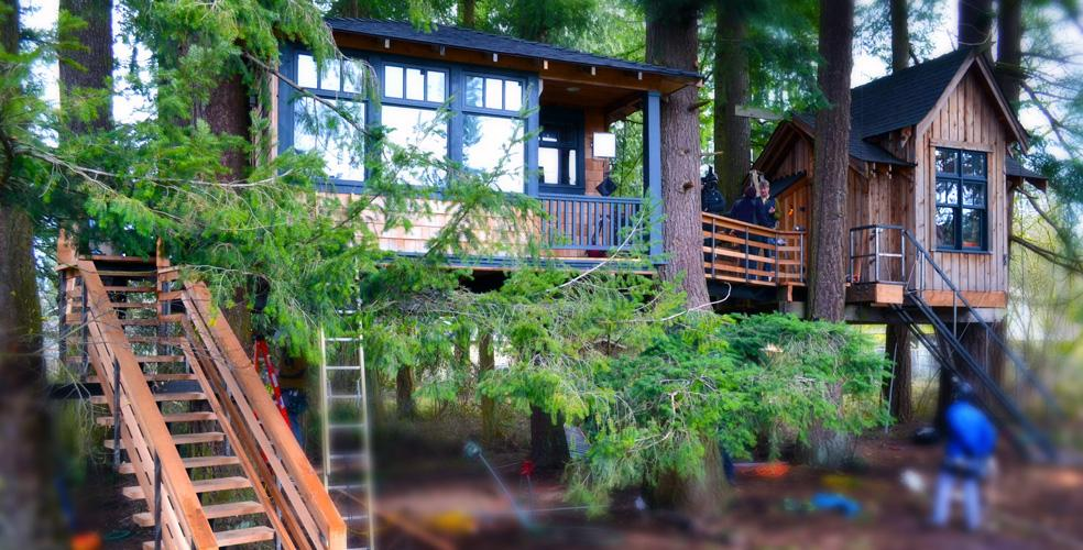 Metal Fab Fortifies Tv Treehouses The Fabricator