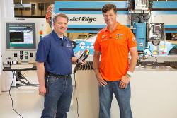 Michael Waltrip Racing installs second Jet Edge waterjet cutting machine - TheFabricator.com