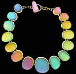 Sherry Moser, Rainbow Necklace