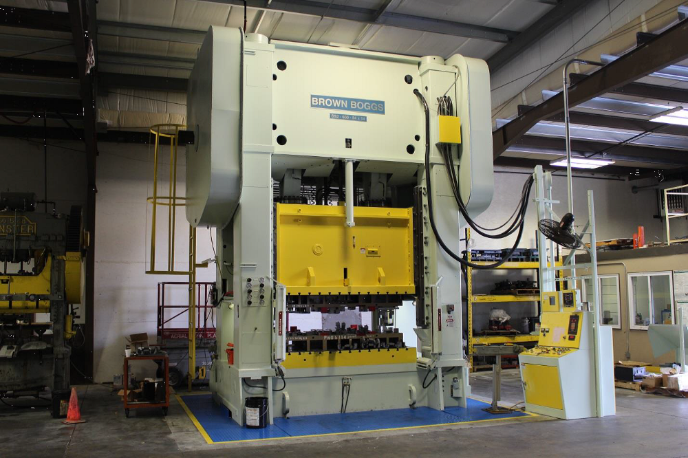 Miro Expands Stamping Capabilities With 600 Ton Press Addition
