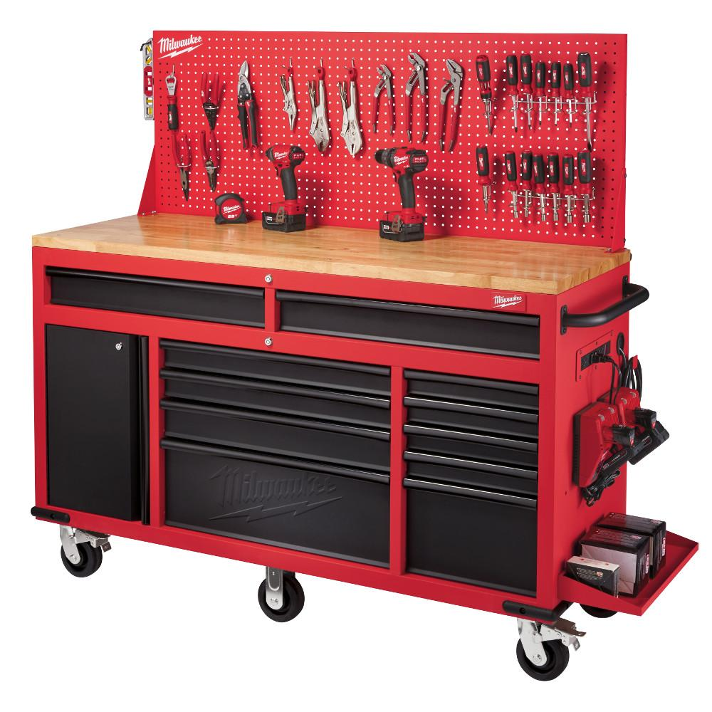 Milwaukee Tool has released a 60-in. mobile workstation and a 30-in. steel storage chest and cabinet. Both units are constructed of reinforced angle iron ...  sc 1 st  The Fabricator & Mobile storage units offered - The Fabricator
