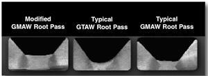 Root weld