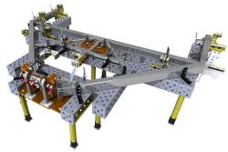 Modular fixturing for welding can be assembled quickly - TheFabricator