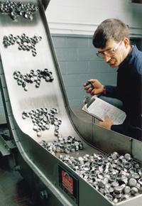 Material handling stampings