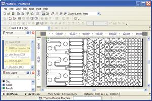 ProNest 8 Software Screenshot