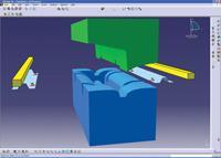 Part production volume simulation