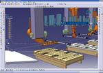 Servo driven press production simulation