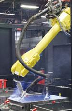 Robot welding Seconn