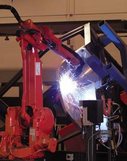 Robotic welding systems