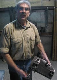 Fabricator Ed Adams