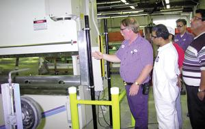 press brake safety evaluation