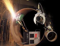 Plasma cutting for tube, pipe, profiles - TheFabricator.com