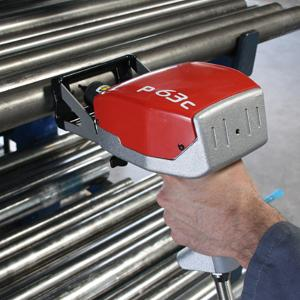 Portable Marking System Works On Heavy Bulky Parts
