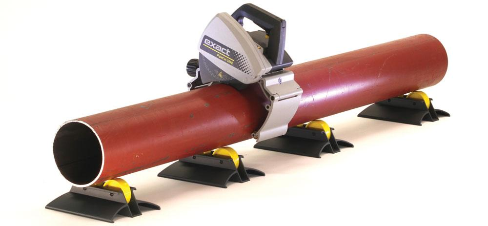 Portable Pipe Cutting Tool Simplifies Sawing Process The