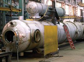 Ward pressure vessels