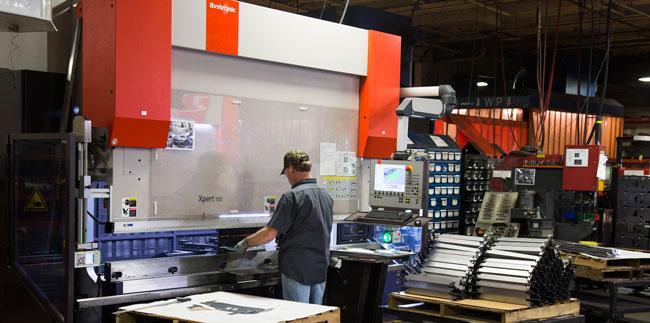 Professionalism In Precision Sheet Metal Manufacturing
