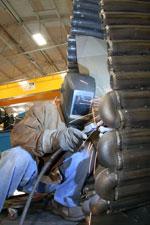 Amerifab pipe welding