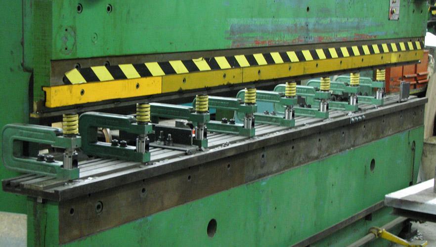 Punching On A Press Brake The Fabricator