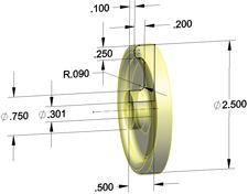 sketch model wheel