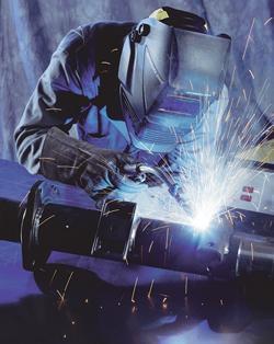 Arc welding image
