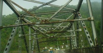 Deteriorating Bridge