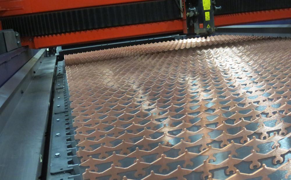 Reducing Headaches Associated With Slag On Laser Grating