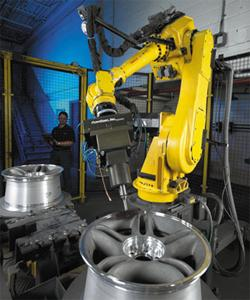 Reinventing The Wheel Chrome Plater Develops Automated