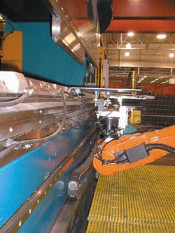 Caterpillar's bending cell
