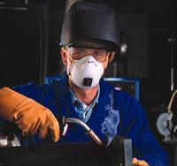 Respirator for welding