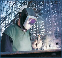 Respiratory protection for welders