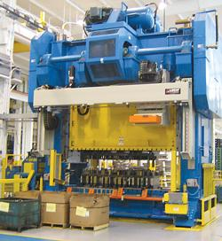 Hybrid transfer press