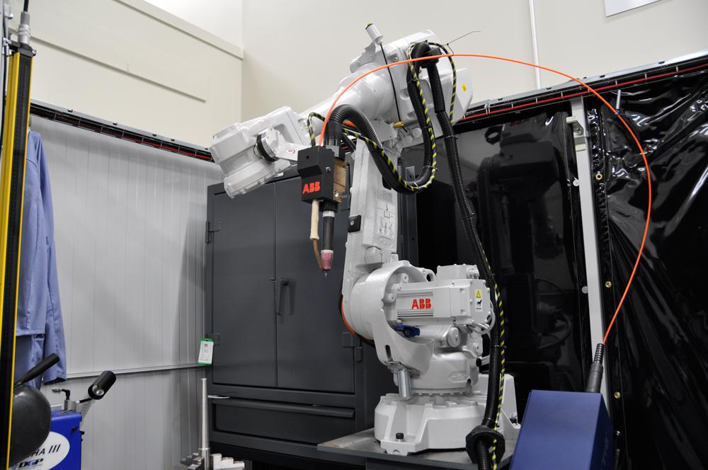Robot Deposits Welds In High Gear With Tip Tig The