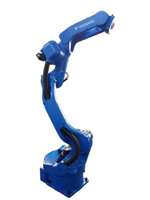 Robot curved upper arm