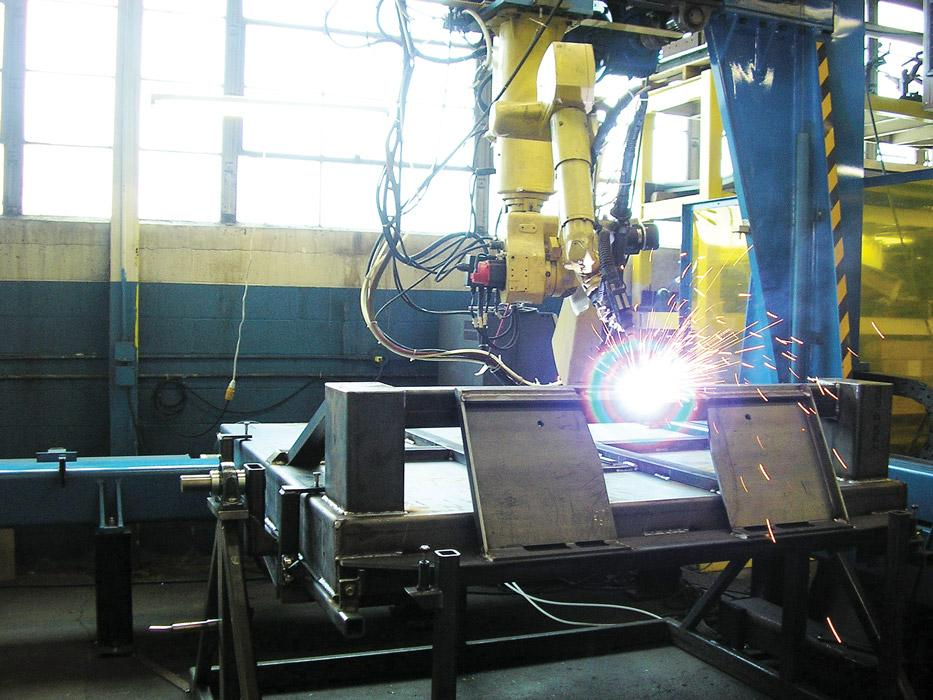 Robotic Welding In A Small Shop The Fabricator