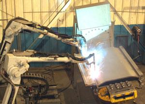 Robotic welding of heavy plate sections - TheFabricator.com