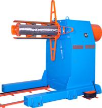 Single madrel decoiler