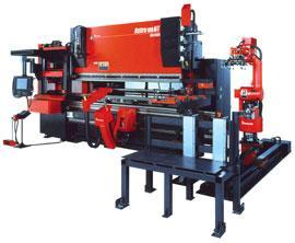 Robotic press brake