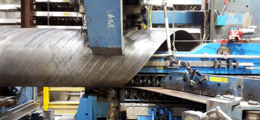 Schuler Launches Spiral Pipe Mill At Evraz The Fabricator