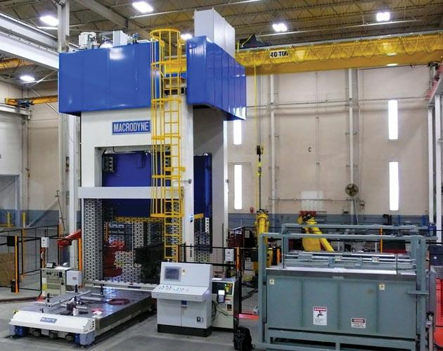 Selecting A Hydraulic Hot Stamping Press
