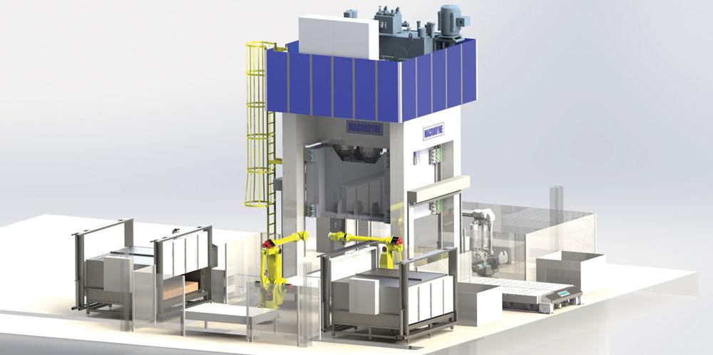 Selecting A Hydraulic Hot Stamping Press The Fabricator