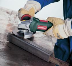 Angle Grinder with Antivibration Side Handle