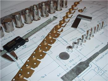Sheet metal stamped parts