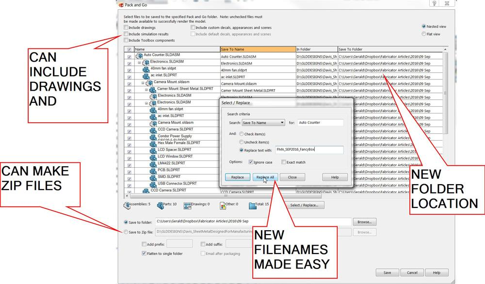 shop technology and 3-d cad  changing the hierarchy and file names within cad assemblies