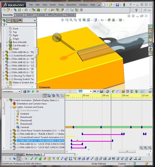 Shop Technology And 3-D CAD: Creating Animations To