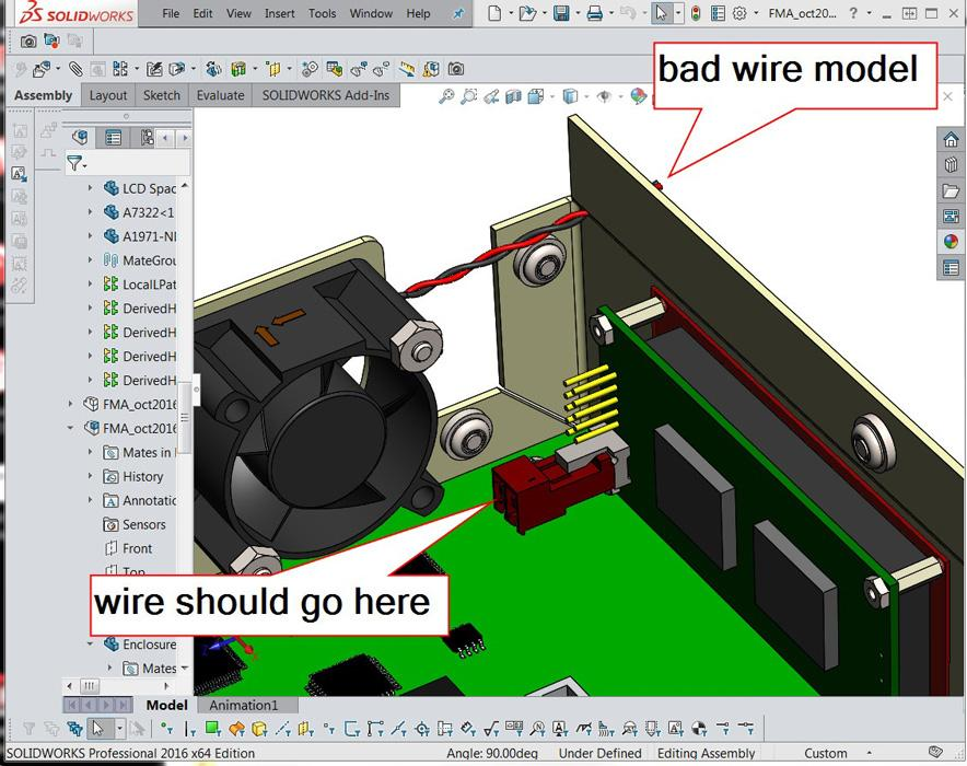 shop technology and 3 d cad modeling a cable harness 5 shop technology and 3 d cad modeling a cable harness the fabricator Security Cages Enclosures at bakdesigns.co