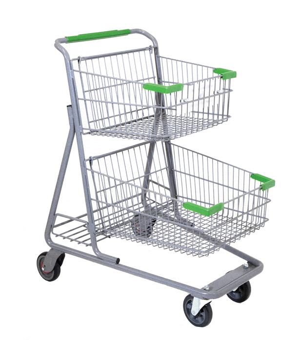 Shopping Cart Manufacturer Rings Up Productivity Gains