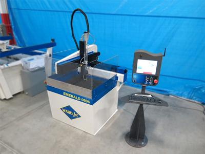 Small scale waterjet system