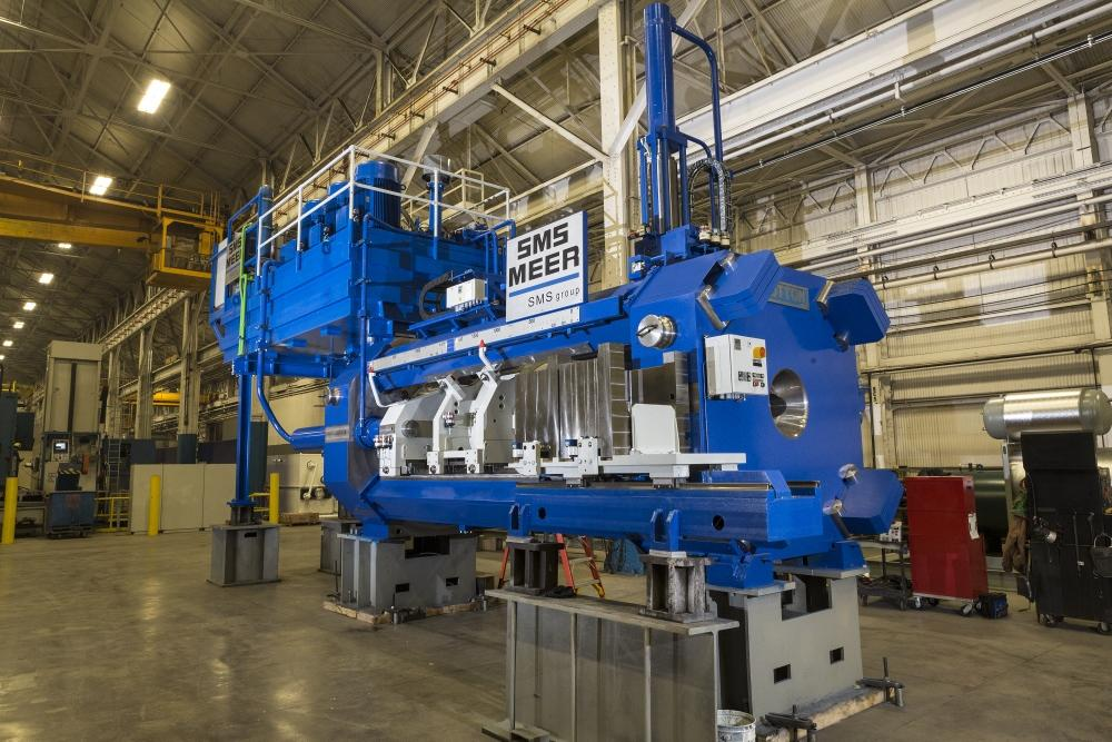 Sms Group Builds Fifth Generation Sutton Extrusion Press